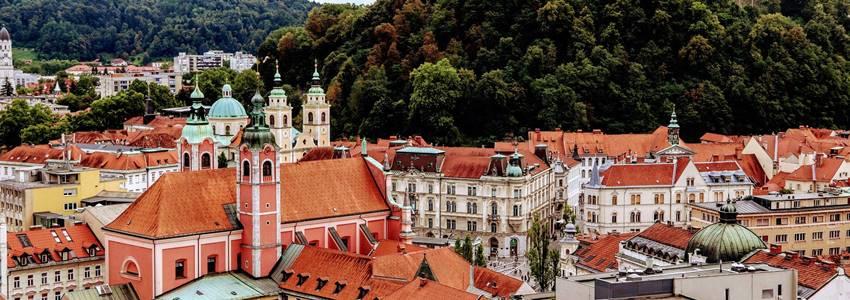 Reiseguide for Ljubljana – de beste attraksjonene og anbefalinger