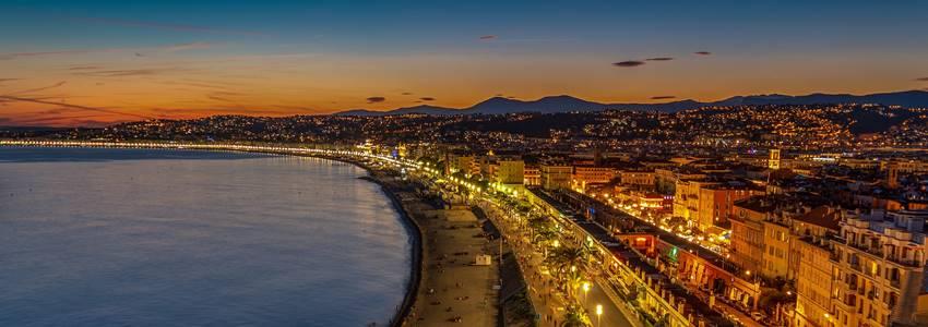 Reiseguide for Nice– de beste attraksjonene og anbefalinger