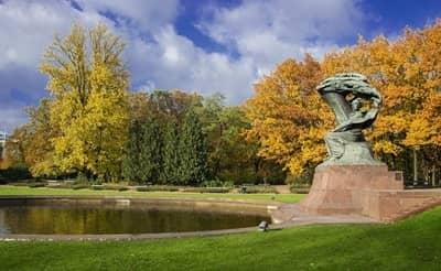 Lazienki Park, Warsaw, Poland