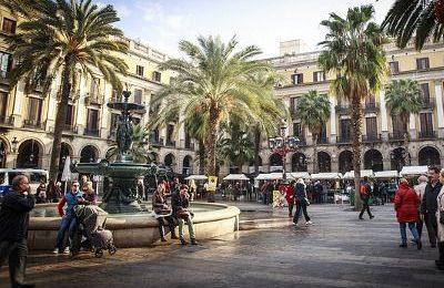 Barcelona square